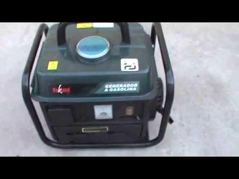 Generador de luz a gasolina de 800 watts parte 1 youtube - Generador de luz ...