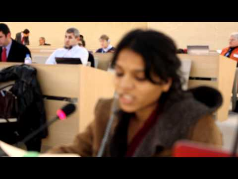 Swati Mukund Kamble UN Speech 14/12/2010 on Dalit Women's economic exclusion