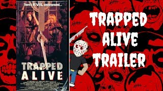 Trapped Alive 1988 Trailer - Underground cannibal horror! Coming to Blu-Ray