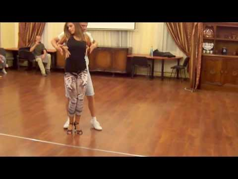 Paulina & Piotr Bachata Porno Workshop SpaŁa 2013 Project Salsa -- Kopia video
