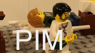 Lego Pim at the doctor