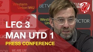 Liverpool 3-1 Man United | Jurgen Klopp Press Conference