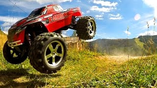 VOITURE RC MONSTER TRUCK - Traxxas T-Maxx 3.3
