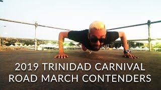 Trinidad Carnival 2019 ROAD MARCH Contenders