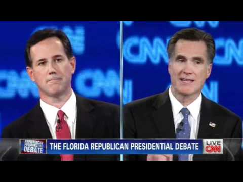 Republican Presidential Candidate Rick Santorum gives Mitt the smack down about Romneycare