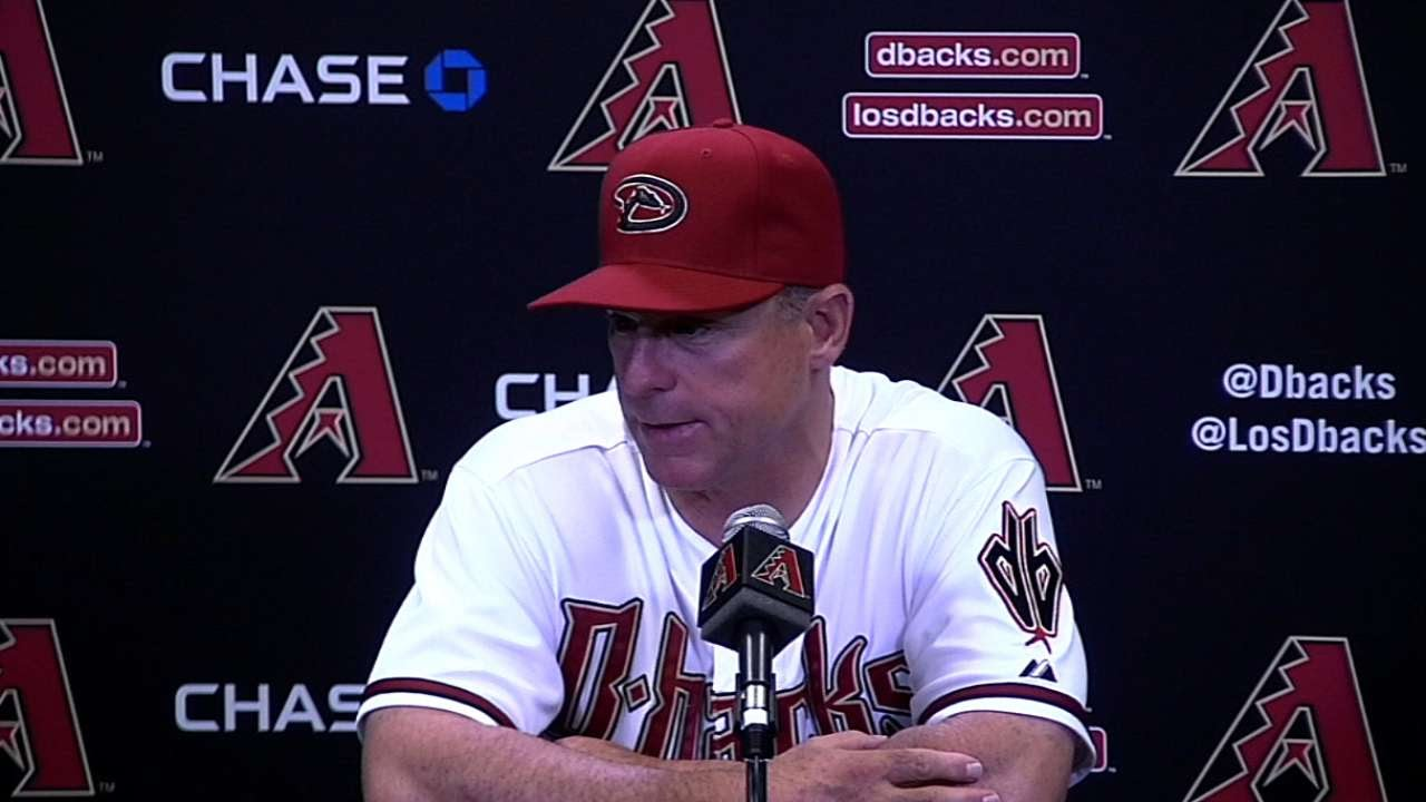 LAD@ARI: Hale on D-backs not giving up and winning
