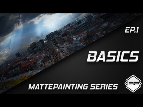 #1 Digital Painting in Photoshop CS6/CS5 Series For Beginners HD - Wacom Tablet / Brushes Tutorial