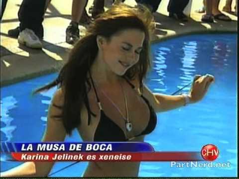 La sensual Karina Jelinek topless en Viña del Mar [PartNerd]