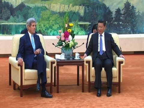Kerry Meets Chinese President