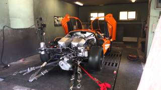Saleen S7 AWD Dyno Tune, 2200+AWHP 25PSI