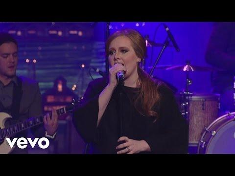 Sonerie telefon » Adele – Rolling In The Deep (Live on Letterman)