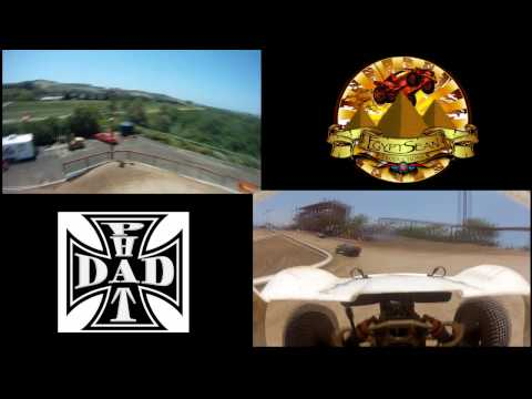 Phatdaddy race- PNP- GoPro on rc heli and HPI Baja 5t