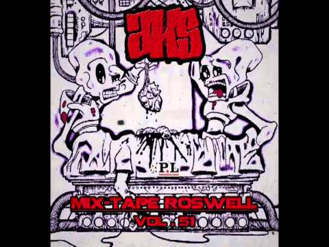 Aks (P.L) - Cocktail d'amiante (Mix-Tape Roswell Vol.51) 2013