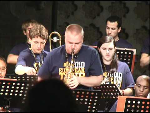 The Gathering Sky - UCO Jazz Ensemble at the Umbria Jazz Festival 2010