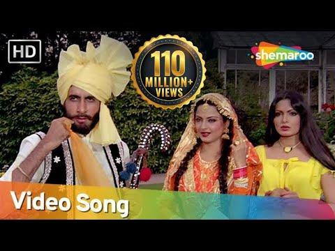 Teri Rab Ne Bana Di - Amitabh,rekha,parveen,shashi - Suhaag 1979 Songs - Asha Bhosle - Mohd Rafi video