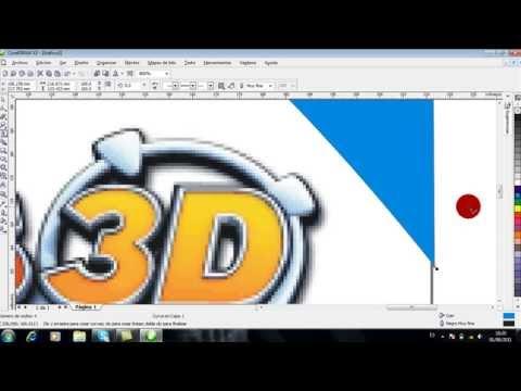 Como usar corel draw x3 - tutorial herramientas