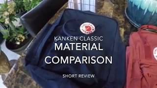 Short Review - Used FAKE vs REAL - USED Material Comparison - Fjallraven Kanken Classic