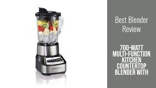 Blender Review - 700-Watt Multi-Function Kitchen Countertop Blender with Glass Pitcher