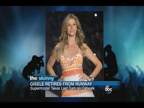 Gisele Bundchen Officially Retires from the Catwalk