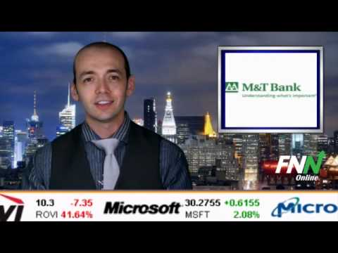M&T Bank Reports Earnings