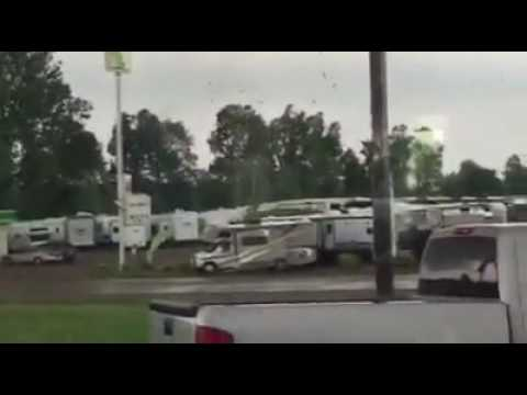 Tornado on the Ground in Mayfield, KY (2 of 3)