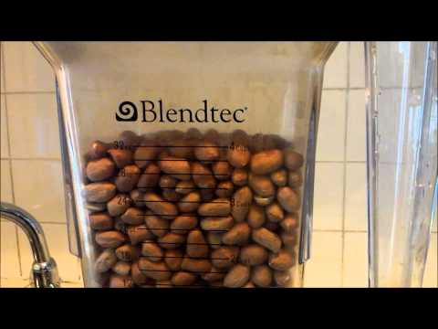 Blendtec. no match for VitaMix? HP3A Tamper/Plunger/Pusher Demo and Peanut Butter Fail.