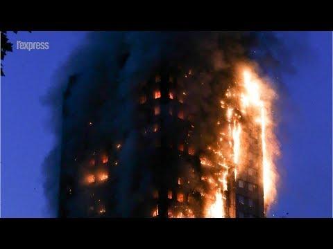 Londres: un énorme incendie ravage une tour d'habitation de 27 étages