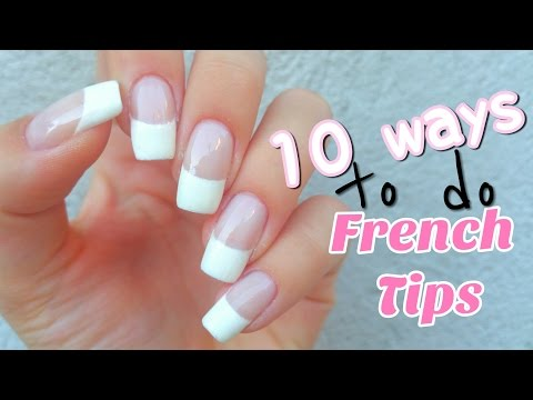 10 Ways to do French Tips