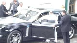 Russian Mafia In Kiev! On Phantom Rolls Royce.