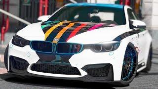 GTA 5 - Quá trình độ xe BMW M4 và chôm xe đem đi bán lấy tiền | ND Gaming
