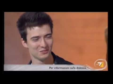 Dislessia – La storia di Luca e Giacomo a Cristina Parodi Live su La7