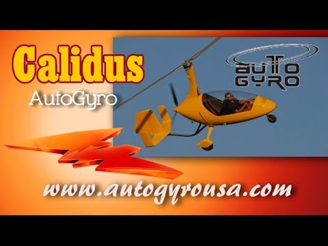 Calidus Autogyro from Autogryo USA aircraft review by Dan Johnson.