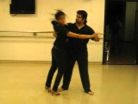 Rocky Poonawala Practising Salsa Choreography On Sholon Si video