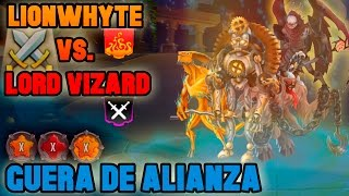 Monster Legends - Guerra de Alianza | LionWhyte Vs. Lord Vizard - [Súper Épica Guerra]