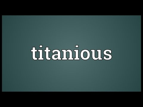 Header of titanious