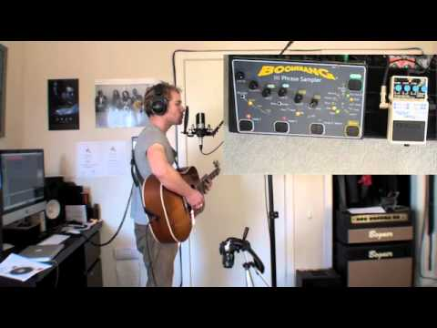 Gotye - Somebody That I Used To Know LIVE Cover w/ Looping - Sam Clark Music Videos