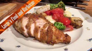 Polenta Curry Chicken Breast in the Delonghi 1394 Multifry