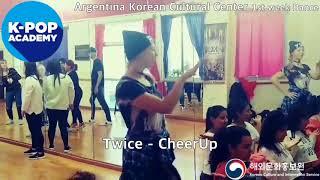 2018 K-pop Academy_주아르헨티나한국문화원 댄스1주차_ArgentinaKoreanCulturalCenter-Dance1stWeek_Twice-Cheerup