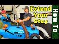How to use a portable waste Tote / Blue Boy (RV Living Full Time) 4K