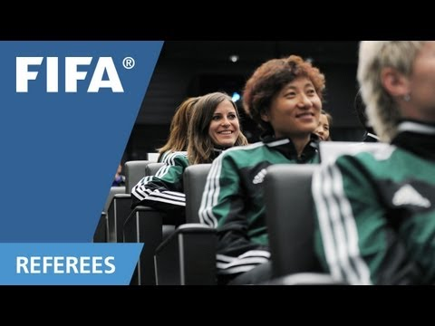 What it takes to be a female referee