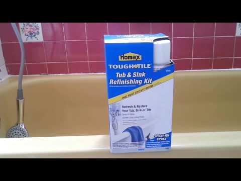 how to repair and paint bath tub do it yourself refinishing diy painting repairing fixing bondo