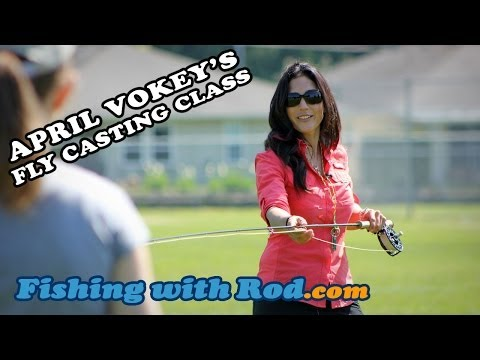 Fishing with Rod: April Vokey's Fly Casting Class