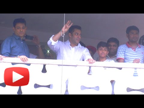 (VIDEO) : Salman Khans  2014 EID Wishes For His Fans!