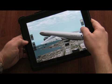 X-Plane iPad Review Flight Simulator for the iPad Demo