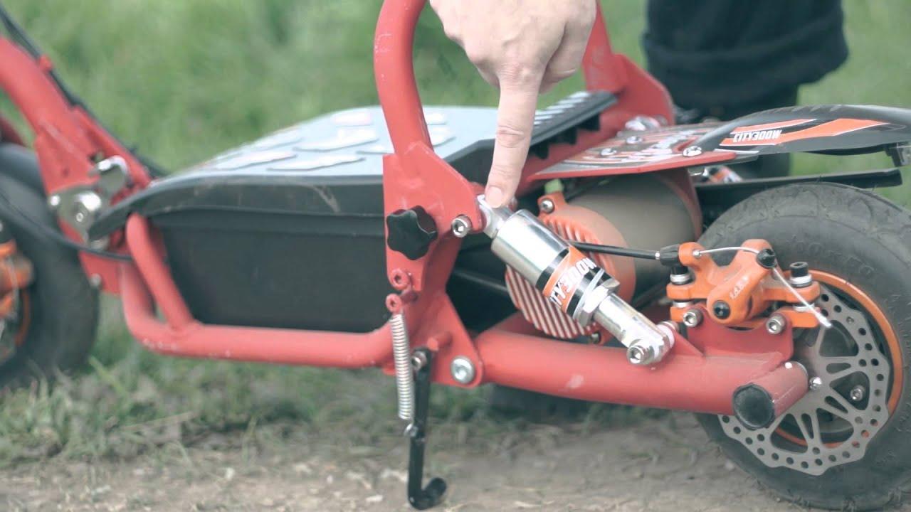 Как сделать цепной скутер резвее