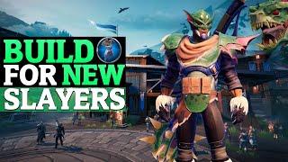 Beginner Build - First Day Slayer Build  - Hammer Gameplay - Dauntless 0.7.2