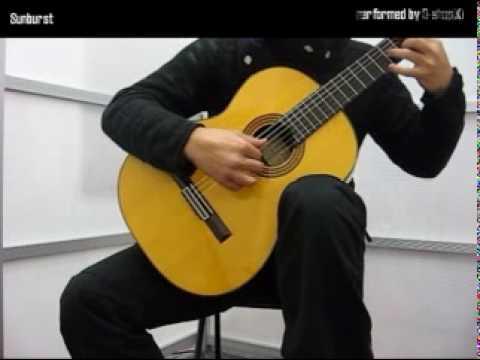 クラシックギターソロ Sunburst (Andrew York 作曲)