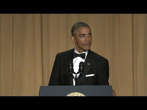 President Obama's Full Speech at the White House Correspondents Dinner