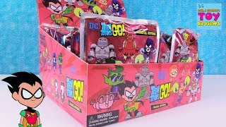 Teen Titans Go Full Set Figural Keyrings Blind Bag Toy Review Opening | PSToyReviews