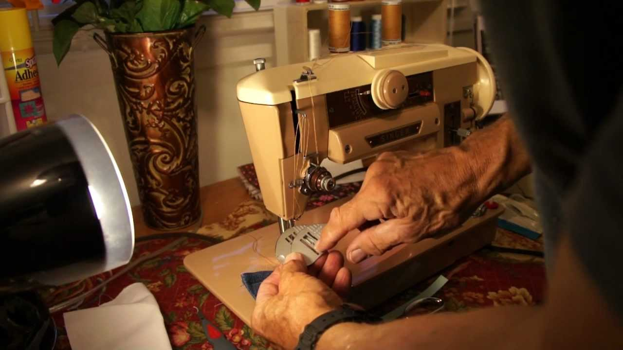 singer model 401a vintage zig zag see videos sewing machine accessories manuals youtube. Black Bedroom Furniture Sets. Home Design Ideas